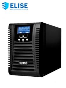 UPS ELISE FASE ONLINE SERIE ZEN 1000VA   900W   4TOMAS DE SALIDA NEMA 5-15   RS232