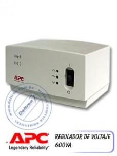 REGULADOR DE VOLTAJE APC 600VA (600W)
