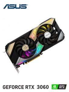 TARJETA DE VIDEO ASUS NVIDIA GEFORCE RTX 3060 TI 8GB GDDR6 PCI-EXPRESS 4.0, HDMI(2),